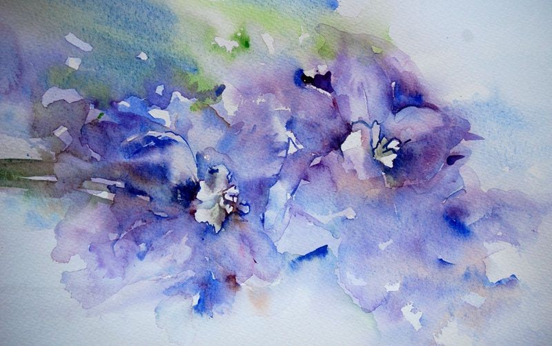 Drop-In's Watercolour at Taghum Hall Tuesday 10:30 – 12:30
